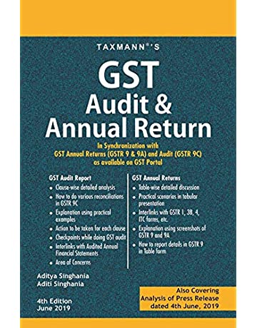 Buy GST Audit & Annual Return-In Synchronization with GST