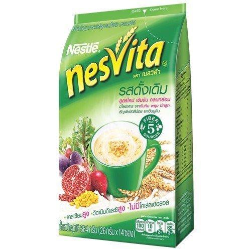 nesvita-instant-breakfast-drink-original-plus-fiber-formula-342g-26gx14-sachets-pack-instant-cereal-