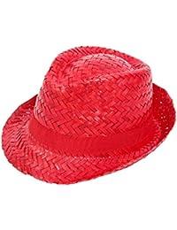 Chapeau forme trilby classique en paille
