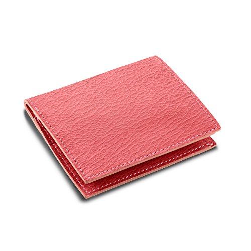 Lucrin - Etui für Kreditkarten und Geldscheine - Ziegenleder Klares