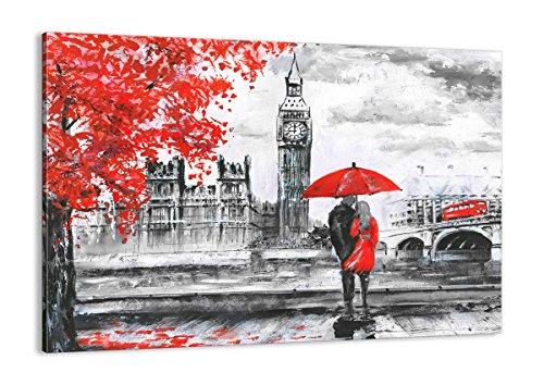 Cuadro sobre lienzo - de una sola pieza - Impresión en lienzo - Ancho: 100cm, Altura: 70cm - Foto número 3153 - listo para colgar - en un marco - AA100x70-3153