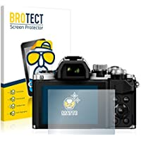2x BROTECT Matte Displayschutzfolie für Olympus OM-D E-M10 Mark II Schutzfolie - Entspiegelt, Anti-Fingerprint