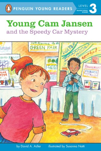 Young Cam Jansen and the Speedy Car Mystery (English Edition)