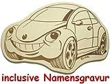 Cera & Toys Kinder Frühstücksbrettchen - Auto - mit Namen