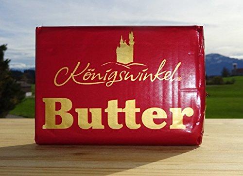 Königswinkel Butter, mildgesäuert, 250 g Stück, Molkerei MVO Rückholz im Allgäu