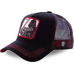 Capslab Trucker Cap Vader Schwarz, Size:ONE Size