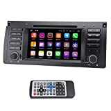 QSICISL Single Din Android 7,1 for BMW E39 7 zoll In Dash HD Touchscreen Auto DVD multimedia Video Player GPS Navigation Stereo mit eingebautem WIFI Modem unterstützung 4G/Bluetooth/Hotspot/SD/USB