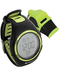 FOX 40 Whistle Watch Armbanduhr + Sonik Blast CMG neongelb/schwarz