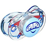 Razbaby Self Closing Pacifier (Blue)