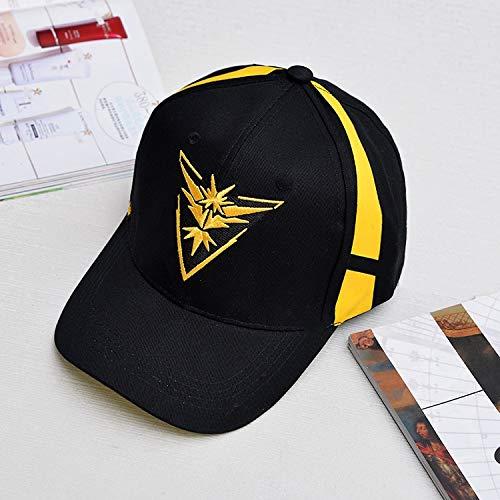 Imagen de ysyncap pokemon   equipo de equipo equipo de valor místico instinto pokemon  equipo  de béisbol negra hombres snapback pokemon  mujer, amarillo