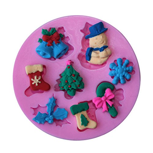 60 Gele Now Foods (Splash Toy - Good Christmas Snowflake Snowman Sock Silicone Mold Cake Baking Decorations Fondant - Flowers Cake Ages Spatula Cookware Bread Storage Adults Organizer Sets Gift Gadgets Anim)