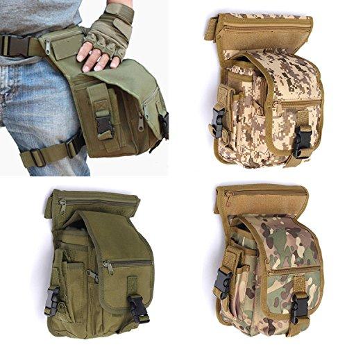ELEGIANT Mode Hüfttasche Outdoor Reisen Sport Beinbeute Tasche Taktische Airsoft Militär Tropfen Bein Schenkel Bag Dienstprogramm Gürtel Tasche Gürtelbefestigung