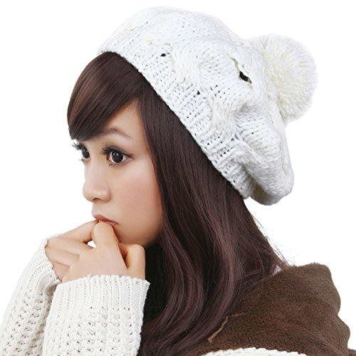 Coréen Mesdames chapeau/ Mme chapeau chaud/Bonnet tricoté/Bonnet de laine C