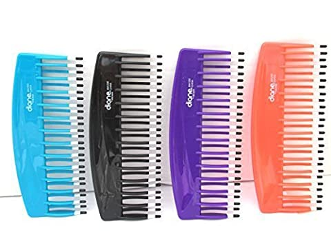 Mebco Double Dip Volume Detangler Comb V200 Get All 4 Colors by Mebco