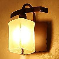 FHK,lampade da parete Nordic semplice cinese personalità della parete di