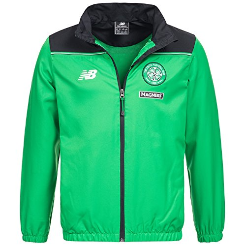 Celtic Glasgow New Balance Herren Track Top Jacke WSJM542-CCG (Celtic-polo-top)