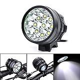 gugou Wasserdicht CREE T6LED Fahrrad Licht Super Bright Fahrrad Scheinwerfer LED-Lichter MTB Scheinwerfer mit 8.4V wiederaufladbarer Li-Ion Batterien Pack und uns Ladegerät