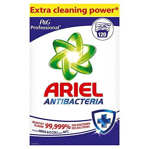 Professional Ariel Vollwaschmittel Antibacteria Pulver 7,8kg, 120Waschladungen