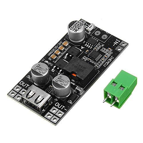 ILS - 8V-35V a 5V 8A Alimentazione DC DC step-down modulo USB per telefono mobile Caricatore da auto