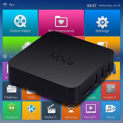 Cairlin Electronics MXQ Quad Core Android TV Box Fully Loaded XBMC Free Sports Film Movies Live XXX