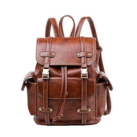 MATAGA Fashion Women Girls Ladies Backpack Shoulder Bag Daypack PU