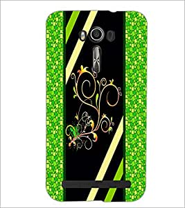 PrintDhaba Pattern D-2692 Back Case Cover for ASUS ZENFONE 2 LASER ZE550KL (Multi-Coloured)