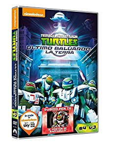 Teenage Mutant Ninja Turtles S4 V3: Ultimo Baluardo - La Terra (DVD)