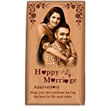 TheLoveMoments Engraved Wooden Photo Frame 4 Inch X 7 Inch