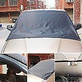 greencolourful Auto Frostabdeckung Frontscheibe Abdeckung Winterschutz Wasserdichte 190T Eisschutz Schneeschutz Windschutzscheiben 172 x 122 cm