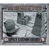 Battlefield in a Box Space Station Lasers. by Battlefront Miniature