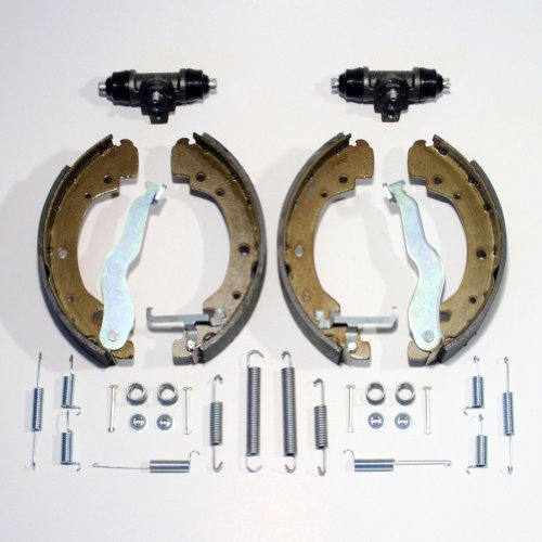 Bremsbacken/Bremsen + Radzylinder + Zubehör für hinten/für die Hinterachse