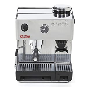 Lelit PL042EM Espresso Coffee Machine, 2.7 Litre, 1000 W, 15 Bar