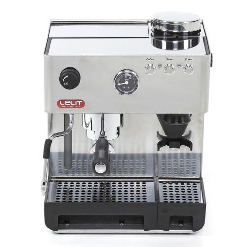 Lelit PL42EMI Kaffee- / Espressomaschine mit eingebauter Kaffeemühle und Hintergrundbeleuchtung und...
