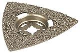 Wolfcraft 3994000 - Plato abrasivo, triangular, recubiertas de carburo de tungsteno, para sierras...
