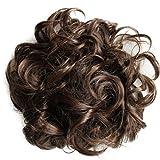 PRETTYSHOP XXL Postiche Cheveux En Caoutchouc Chouchou Scrunchy Chignons VOLUMINEUX Bouclés Ou Chignon Décoiffé Différentes Couleurs HW3