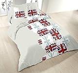 Home Passion 53487Bettwäsche London Baumwolle Mehrfarbig
