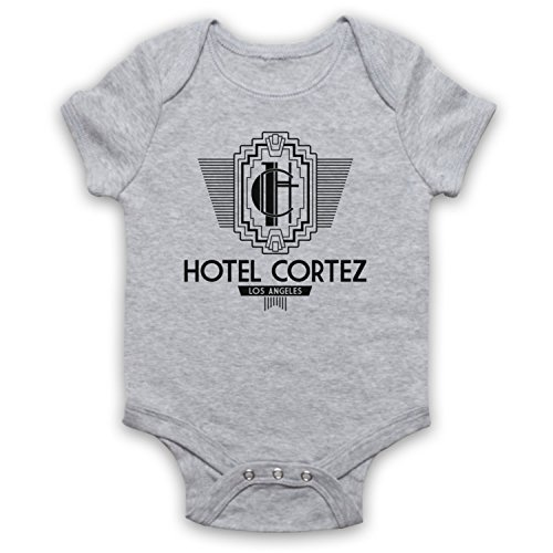 American Horror Story Hotel Cortez Babystrampler, Grau, 12-18 Monate