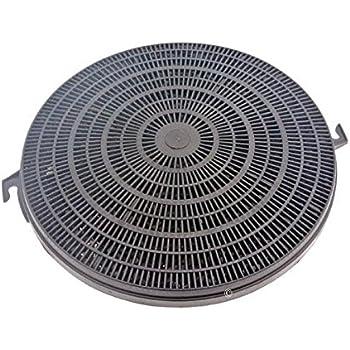 Filtre charbon x1 aft601w aft602w aft60420 aft642 chm189 hotte faure chm161w