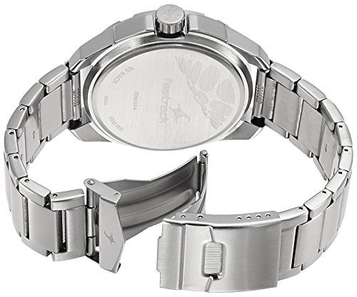 516wwUkHAcL - 3084SM01 Fastrack Silver Mens