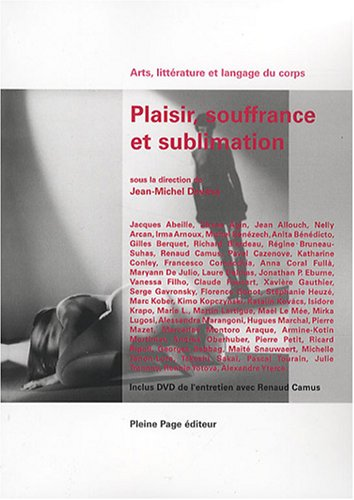 Plaisir, souffrance et sublimation (1DVD) par Jean-Michel Devésa