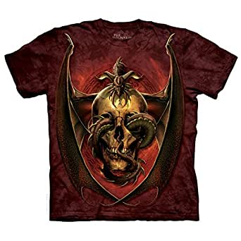 The Mountain Unisexe Adulte Dissent Dark Fantasy T Shirt S