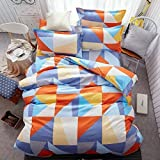 New Model(Made In India)comforter Cotton Printed Double Bed Quilt/Comforter/AC Quilt/AC Comforter//Bed Comforters (Size:230*250 CM Approx) With Bed Sheets And 2 Pillow