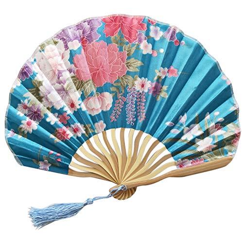 Chinesisches Braut Fächer Hochzeit Handfächer Japanischer Klapp Bambus Fan-hölzernes Handgemachtes Vorzügliches Festival Geschenk Party Cosplay Papierfächer Faltbar Papier Fächer Wohnzimmer Deko (Japanische Baseball-hüte)
