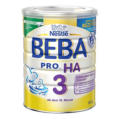 Nestlé BEBA Pro Ha 3 Folgenahrung, ab 10 Monat, 6er Pack (6 x 800 g)