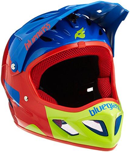 Bluegrass Explicit Helm, Blue/Red/Green, 58-60 cm