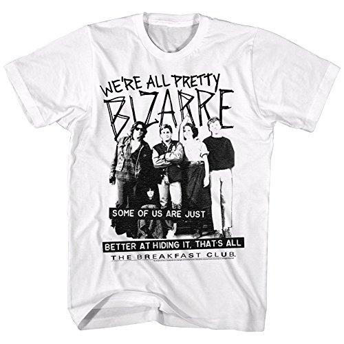 Breakfast Club - Mens Pretty Bizarre T-Shirt, X-Large, White