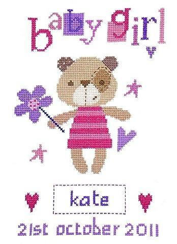 The Stitching Shed Madison Girl Cross Stitch