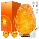 Omonic (3-5 kg) Lampe de Sel de l'Himalaya Himalayenne rose Cristal Lampe Lampes de...