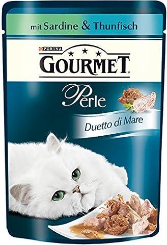 Gourmet Perle Katzenfutter Duetto di Mare mit Sardine und Thunfisch, 85g