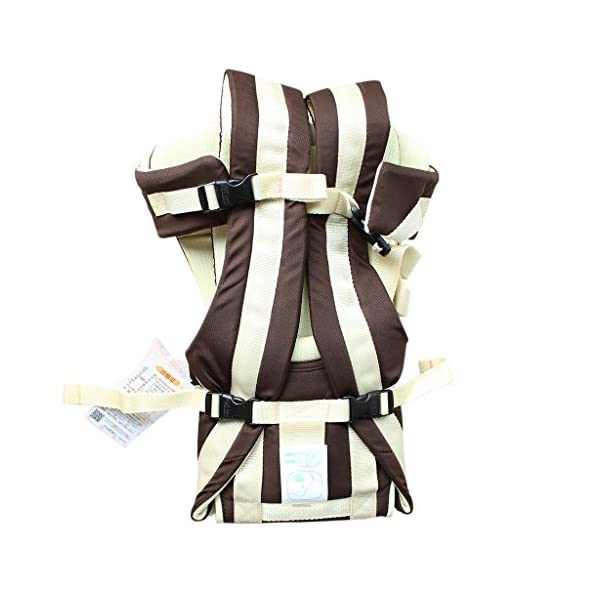 """GudeHome Baby Carrier 4 Positions Backpack, Front Facing, Kangaroo & Sling Lightweight Infant Carrier GudeHome COMFORT AND SECURITY - We know how important it is to you as the consumer to have a product that you can rely on and with peace of mind. That confidence you feel when you know your product was worth every penny! """"The proof is in the pudding"""" they say. Our double sling design provides extra security for baby and privacy while nursing. An adjustable shoulder belt and waist belt are made for safer carrying with a double-protection safety buckle eloquently designed just for your maximum comfort! EVERYTHING YOU EVER WANTED in a baby carrier can be found in flexible, lightweight, and ergonomic baby carrier. Our unique and comfortable carrier allows for FOUR safe carrying positions. The Backpack, Kangaroo, Front-Facing, & Sling positions can all be used based on your mood and comfort. This carrier provides plenty of back support. It sits on both shoulders to take stress off the back. No other baby carrier offers such a variety of positions and styles to carry your baby! QUALITY IS OUR PRIORITY - You may be thinking what separates this baby carrier from other brands that are made of cheap quality and initially seem fine, but soon after begin to fail. The baby carrier is made of top quality and premium material that is meant to last over a long-term period and designed to be the best and last brand of baby carrier you ever have to buy! 26"""